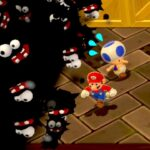 【ゲーム遊び】#43 スーパーマリオ3Dワールド 6-7 こわすぎるホラーのようなチョロボン はじめての3Dワールドを2人でいくぞ!【アナケナ&カルちゃん】Super Mario 3D World
