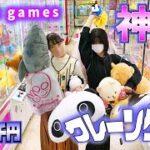 クレーンゲーム【神回】姉妹5000円対決で大量ゲット!【のえのん】