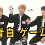 【BTS日本語字幕】バンタン青白 ゲーム/ BTS Blue Flag White Flag