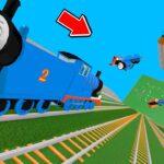 トーマスを崖から吹っ飛ばして破壊するゲームがヤバすぎる。ロブロックス【ROBLOX】