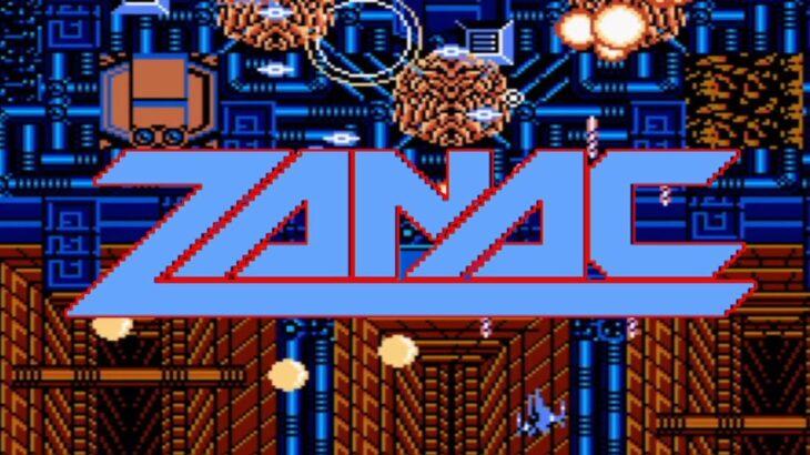 レトロゲーム部 #078 ファミコンであそぼ!ザナック NTmini COMPILE ZANAC NES
