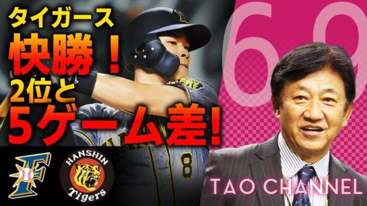 【交流戦 6/9】タイガース快勝!2位ジャイアンツと5ゲーム差!【阪神タイガース× 北海道日本ハムファイターズ】