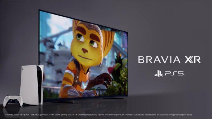 ブラビア:BRAVIA XRで次世代のゲーム体験【ソニー公式】