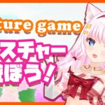 【gesture game/3D】ジェスチャーゲームで遊ぼう!【Vtuber】