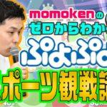【解説動画2】「momokenのゼロからわかるぷよぷよeスポーツ観戦講座vol.2」