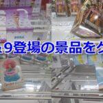 【クレーンゲーム】6/8&9登場の景品をゲット!