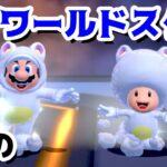 【ゲーム遊び】#71 スーパーマリオ3Dワールド 星-9 最後のワールドスターコース はじめての3Dワールドを2人でいくぞ!【アナケナ&カルちゃん】Super Mario 3D World