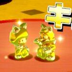 【ゲーム遊び】#73 スーパーマリオ3Dワールド キノコ-2 ふたりで金の招き猫 はじめての3Dワールドを2人でいくぞ!【アナケナ&カルちゃん】Super Mario 3D World