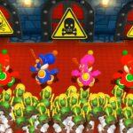 マリオパーティ9ミニゲーム-ヨッシーvsヨッシーvsヨッシーvsヨッシー(マスターCPU)