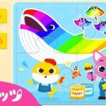 【子供向けゲームアプリ】 サメのかぞく パズル遊び | ベイビーシャーク ゲームアプリ