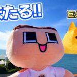 海上のクレーゲーム!ぐち男、海ほたるへ巨大金ネコに会いにいく!!