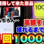 【1回10000円】景品が???の超高額クレーンゲームで獲れるまでやってみた結果ww 【UFOキャッチャー】japanese claw machine