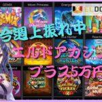 【オンラインカジノ】今週上振れ中!5万円プラス目指すよ(エルドアカジノ)