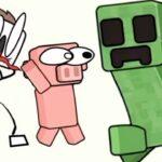 マイクラみたいな世界で絵の一部を消して謎を解くゲームが面白い【 Stickman Craft 】