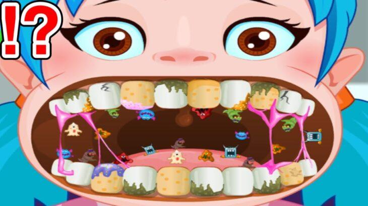 歯医者になって子供たちの歯を改造したりできるゲームがぶっ飛んでて面白すぎた【バカゲー】