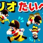 【ゲーム遊び】ハチマリオの子供のお世話で大変な1日 スーパーマリオ ギャラクシー【アナケナ】Super Mario Galaxy