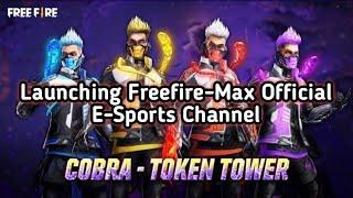 Launching Freefire E-Sports Channel + Cobra Bundle Giveaway on 1Million  || Freefire E-Sports ||