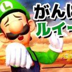 【ゲーム遊び】スマブラSP 勝つまでやるがんばルイージ プレミア公開【アナケナ】Super Smash Bros