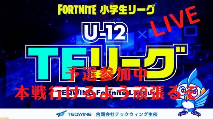 小学生eスポーツ 【U-12 TFリーグ】Fortnite小学生大会 予選初出場しました!!
